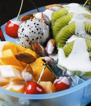 """晚餐""""水果+酸奶""""可减肥"""